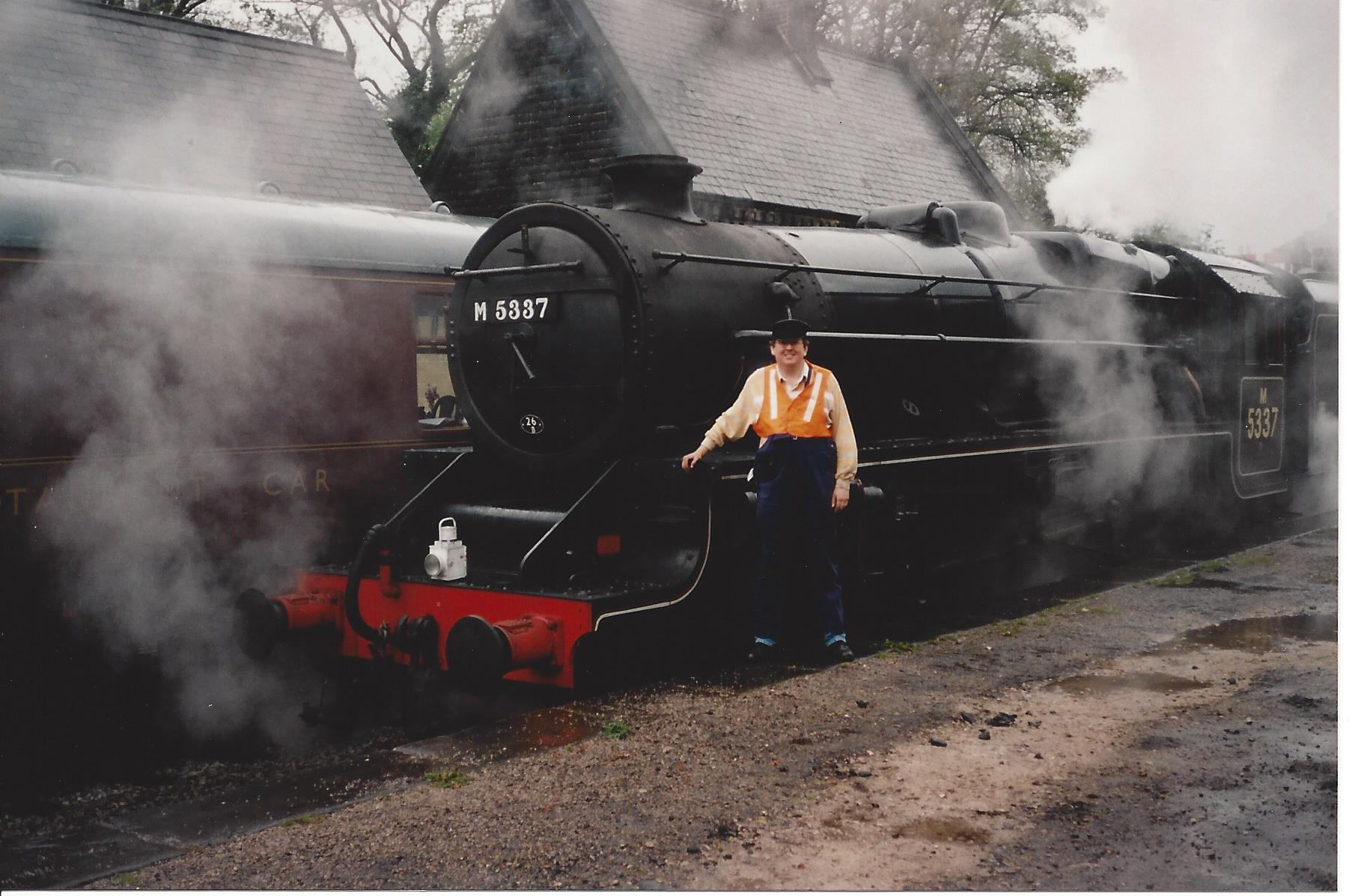 Other things I have driven #1 – ex LMS Stanier Black Five